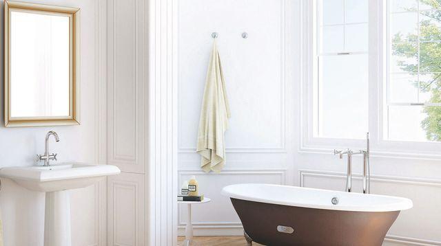 17 best images about salle de bains on pinterest big sur - Salle de bain moderne avec baignoire ...