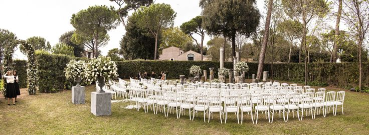 #Ceremony in a #garden
