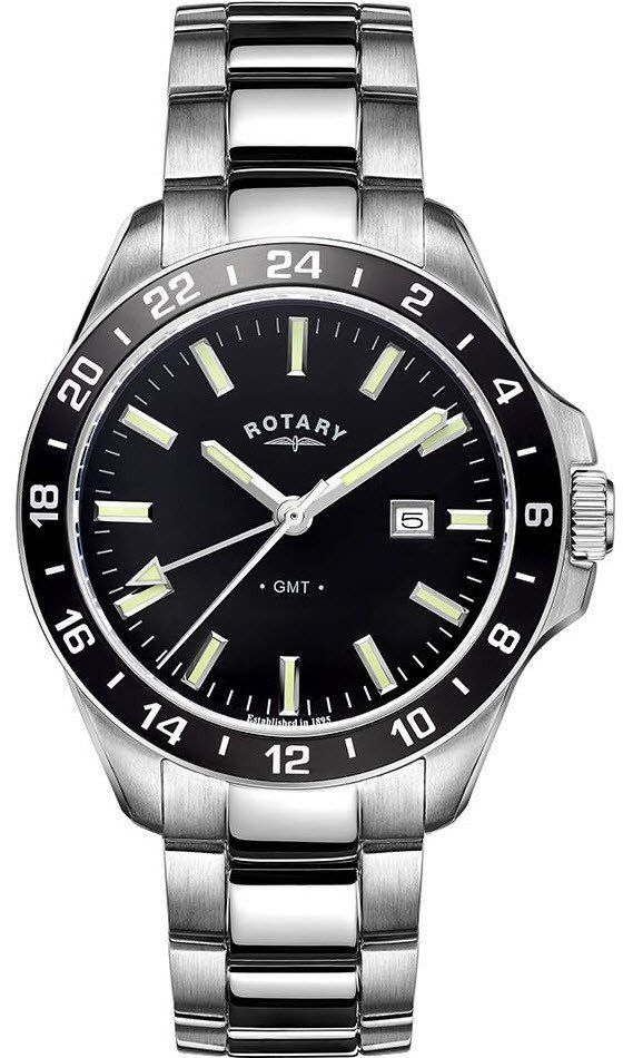 Rotary Watch Gents Stainless Steel Bracelet #add-content #bezel-fixed #bracelet-strap-steel #brand-rotary #case-depth-11-2mm #case-material-steel #case-width-42mm #classic #date-yes #delivery-timescale-1-2-weeks #dial-colour-black #gender-mens #gmt-yes #movement-quartz-battery #new-product-yes #official-stockist-for-rotary-watches #packaging-rotary-watch-packaging #style-dress #subcat-rotary-core-mens #supplier-model-no-gb05017-04 #warranty-rotary-official-lifetime-guarantee…
