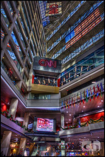 CNN Center in Atlanta, Georgia