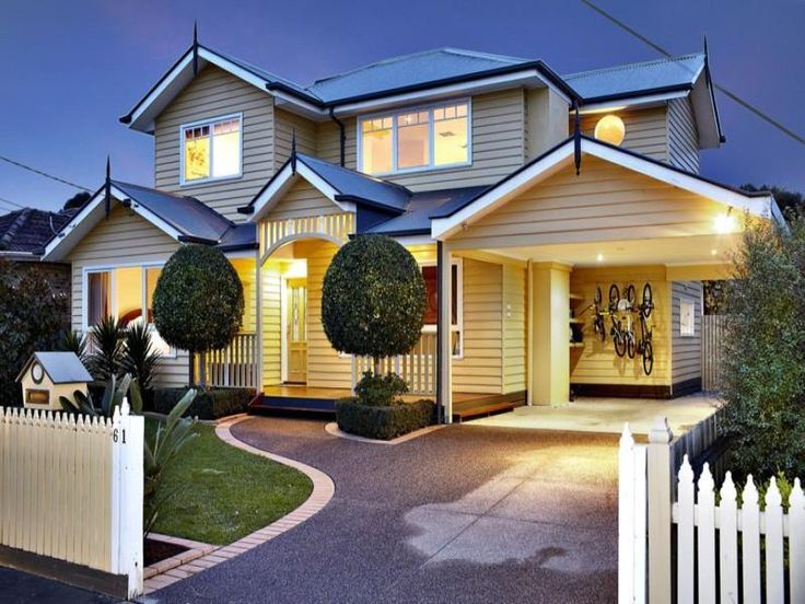 Carport ideas attached to house australia google search for Weatherboard garage designs
