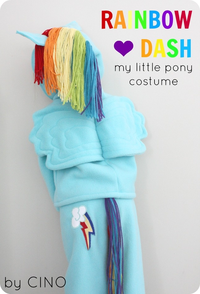 My Little Pony costume from Craftiness is not optional… seriously adorable!