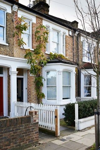 Terraced House Exterior Renovation - Before  After Design Ideas (houseandgarden.co.uk)