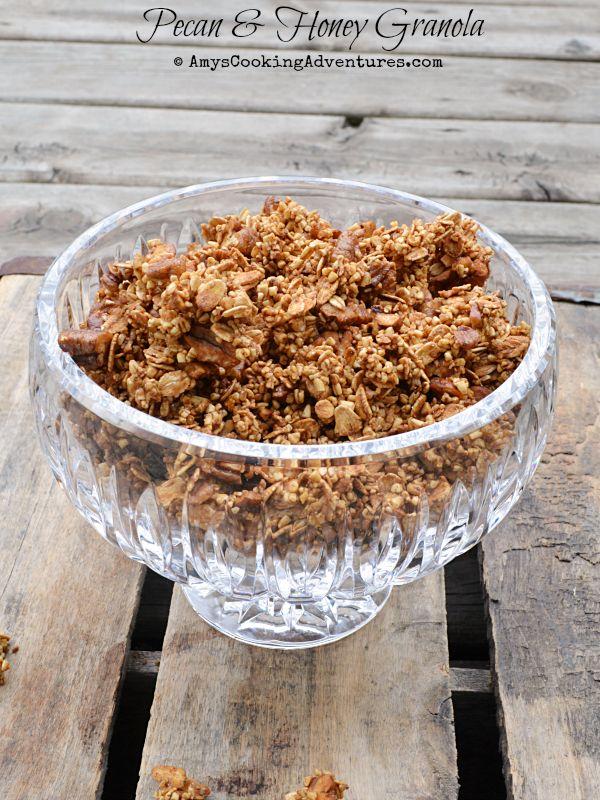 Pecan & Honey Granola #SecretRecipeClub