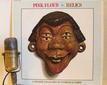 """Pink Floyd disque vinyle """"Relics: A Collection Bizarre des Antiquités et objets de curiosité"""" album Syd Barrett LP (1982 Capitol Re-Issue w / """"Arnold"""