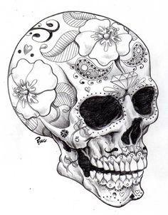 Wish list on Pinterest | Sugar Skull Art, Sugar Skull and Skull ...