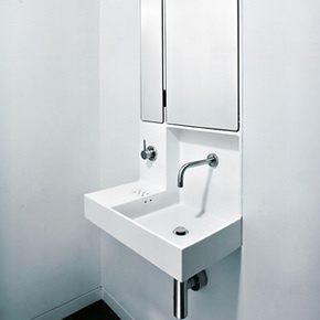 Recessed Wall Sink : recessed wall sink
