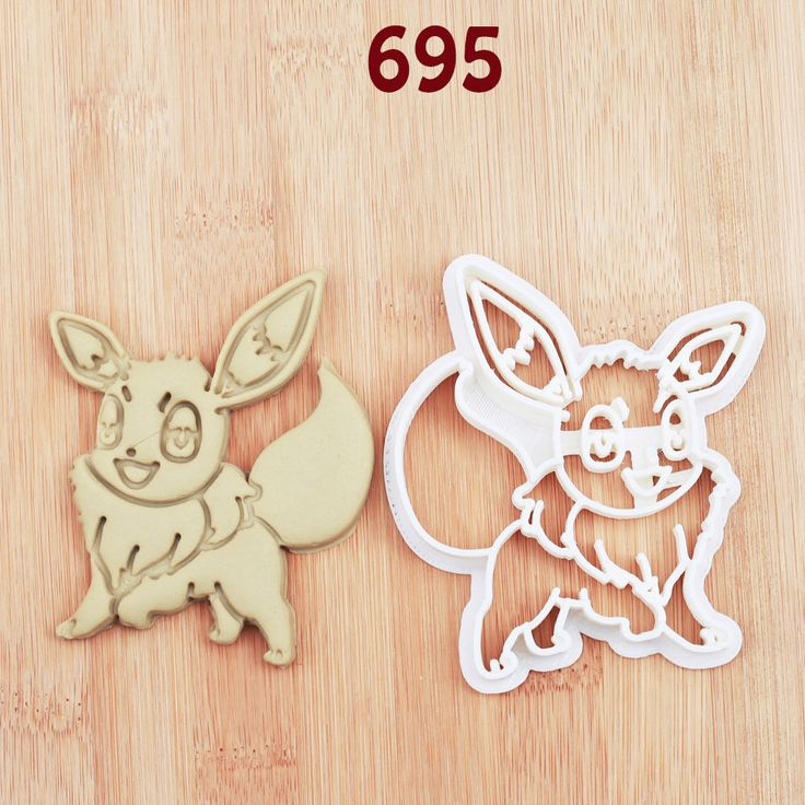 Eevee Cookie Cutter  eevee party  eevee birthday  eevee baby  eevee fabric  eevee invitation  eevee nursery  eevee cake topper  eevee shirt by MKCookieCutter on Etsy https://www.etsy.com/listing/242104050/eevee-cookie-cutter-eevee-party-eevee