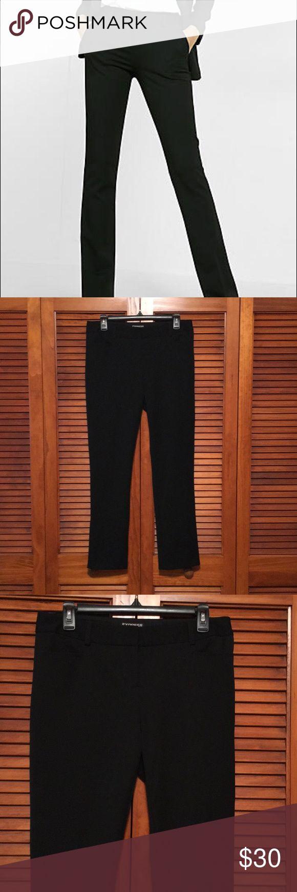 Express Columnist Black Excellent condition Express Columnist. Size 4 Regular, but hemmed. Inseam: 28.5 Waist: 16 Express Pants