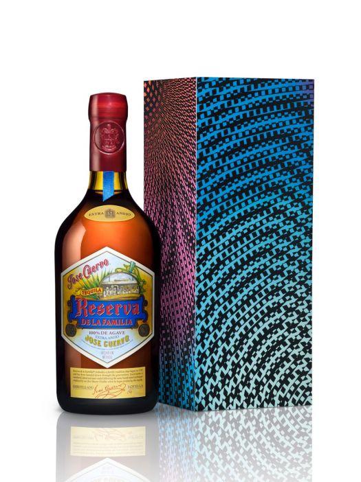 Jose Cuervo Reserva de la Familia Tequila 2014 Edition  | Box art by Carlos Aguirre. | 2014