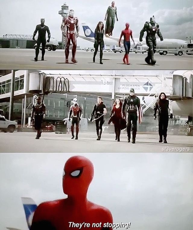 Spider-Man was possibly one of the best things in Civil War. Besides Bucky of course.