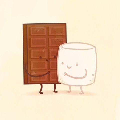 Chocolate and Marshmallow by Philip Tseng