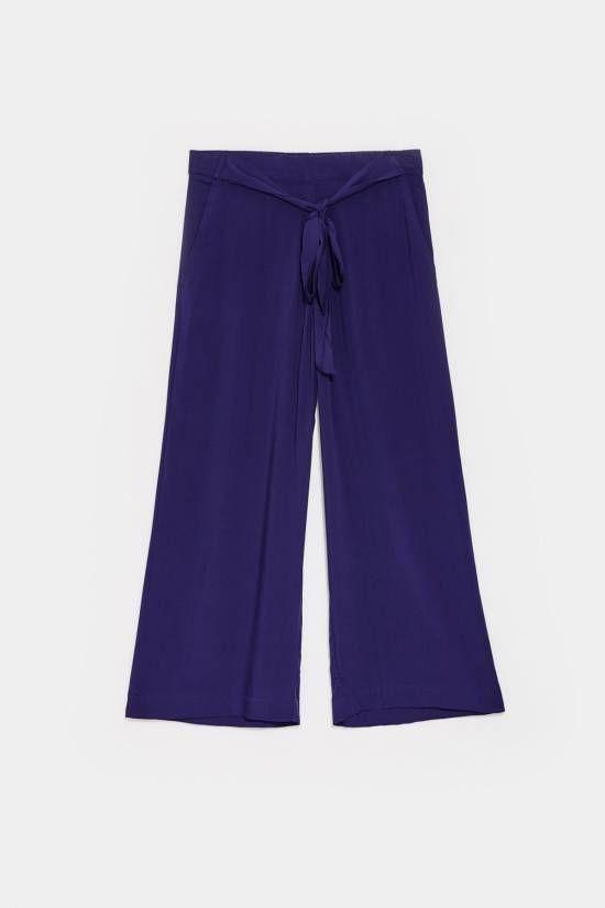 pantalone palazzo viscosa   New Collection online