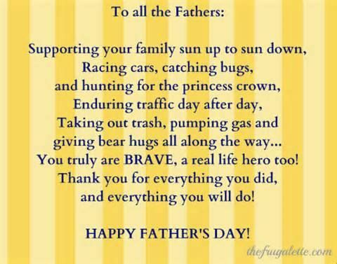 fathers day sayings short