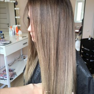 3 сеанса назад это был чёрный цвет волос 😳 Волосы очень густые и длинные. И красивые теперь😻  👇👇👇   🌹Ваш мастер Алина Сергиенко   =========================