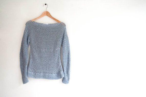 CROCHET PATTERN - DIY spring sweater easy, women's crochet pattern, women's sweater, crochet diy, pullover crochet, women's fashion,gift