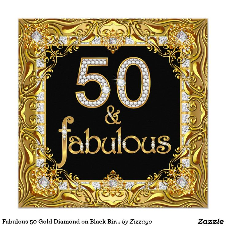 50 And Fabulous Gold: 15 Best Images About Fabulous 50th Birthday Party On