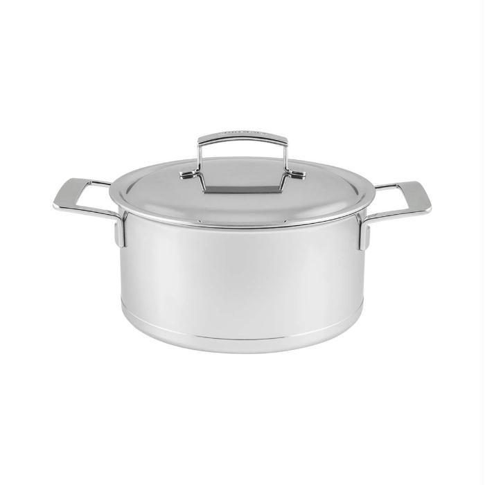 Kookpan 18cm Silver Demeyere Top Pan Demeyere Silver Bezit Alle Kwaliteiten Voor Een Optimaal Kookresultaat Demeyere Kitchen Appliances Rice Cooker