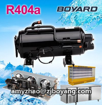 Prompt goods! lanhai boyang r404a cold room refrigeration compressor rotary compressor c-rhn110e5a con gas r404a