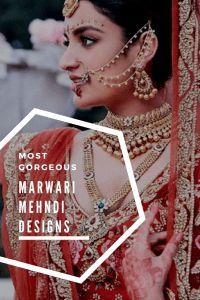 marwari henna designs