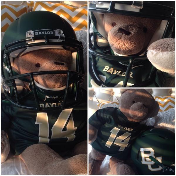 Cute idea for a homemade #Baylor Bear!Future Bears, Homemade Baylor, Baylor Stuff, Ayy Sic, Baylor Pride, Baylor Bound, Baby Archer, Baylor Bears, Colleges Team