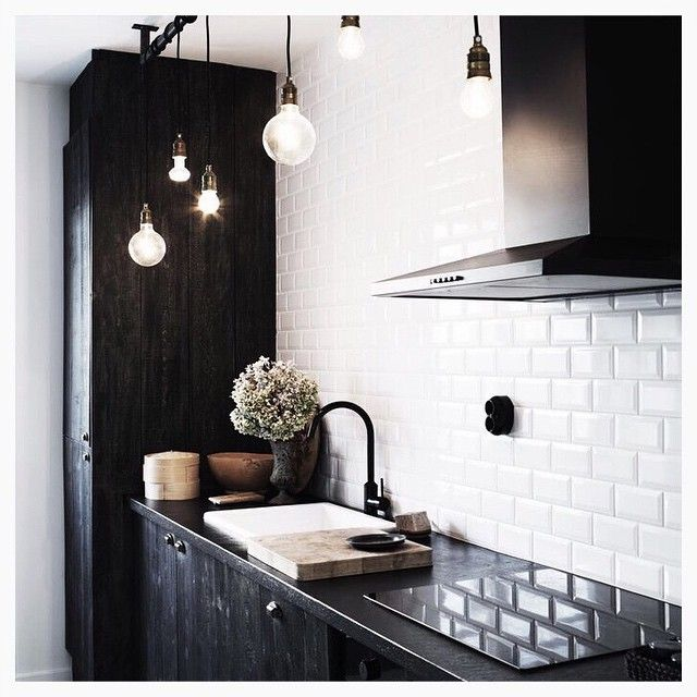 """""""The one thing my man said we must have in our new house is matte black taps.. after searching for inspo, he may actually know what he's talking about"""""""