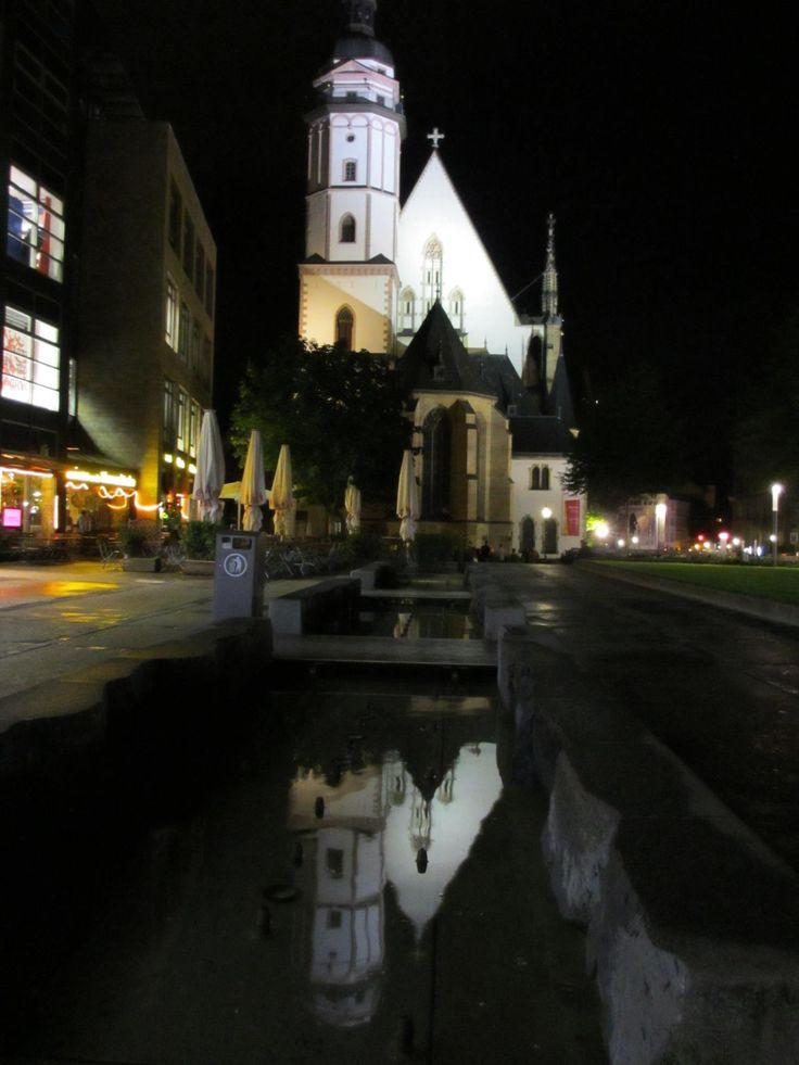 The Thomaskirche, Leipzig, taken in September 2015