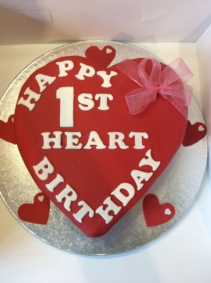 1st year anniversary / birthday for a Heart Transplant patient