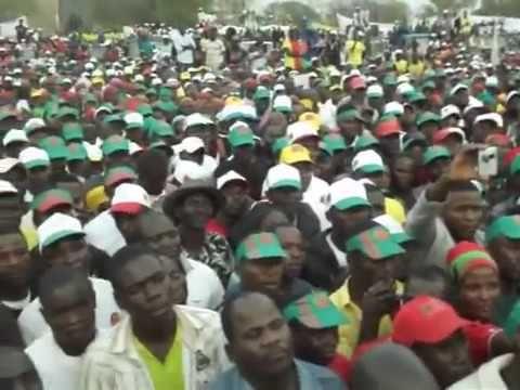 RAFAEL MASSANGA SAVIMBI, acolhido com muito entusiasmos no Huambo