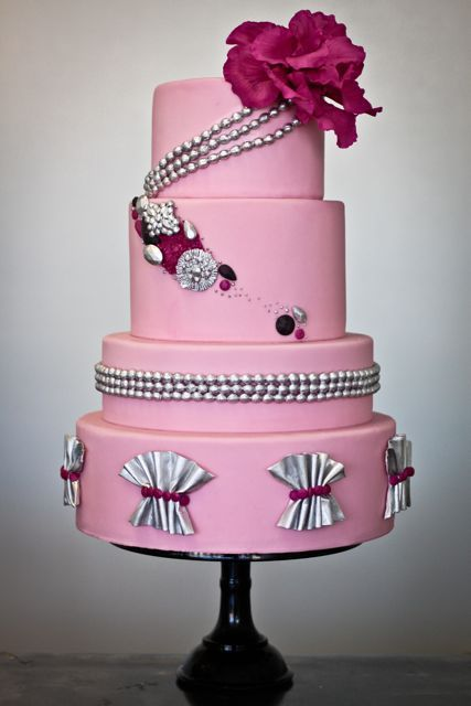 Pink Bling Cake Sweet And Saucy Shop Cakes Amp Cupcakes