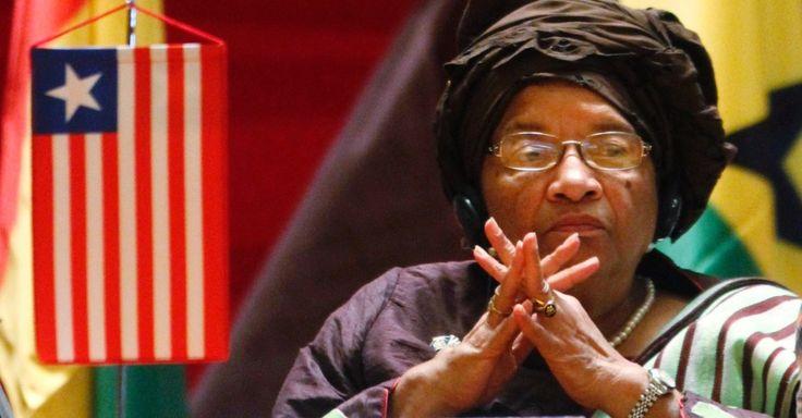 Ellen Johnson-Sirleaf é presidente da Libéria. Derrotou o ex-futebolista George Weah nas eleições presidenciais de 2005, foi reeleita em 2011 e venceu no prêmio Nobel da paz de 2011, juntamente com a compatriota Leymah Gbowee e a iemenita Tawakel Karman