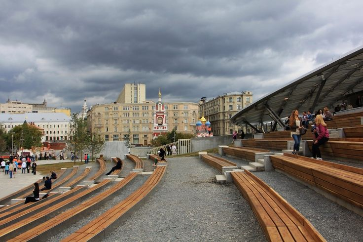 2 Новый парк Зарядье в Москве и места рядом / New Zaryadye Park in Moscow and places nearby - petraksenov