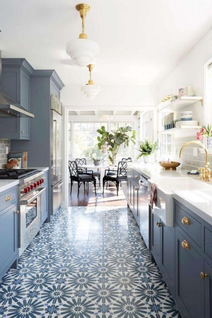 39+ Beautiful Kitchen Floor Tiles Design Ideas Kitchen