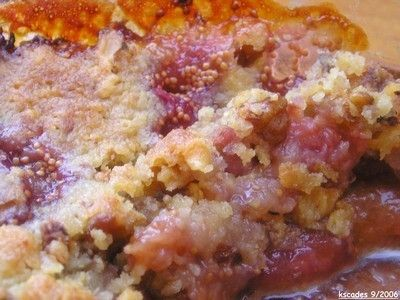 crumble figues noix