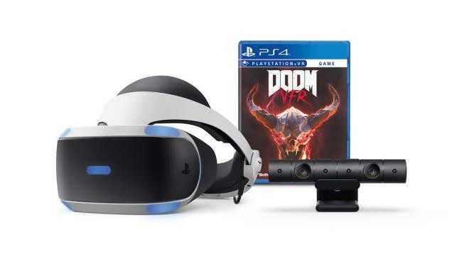 Sony's newest #Ps VR bundle takes on the 'Doom' hellscape - Engadget  ...