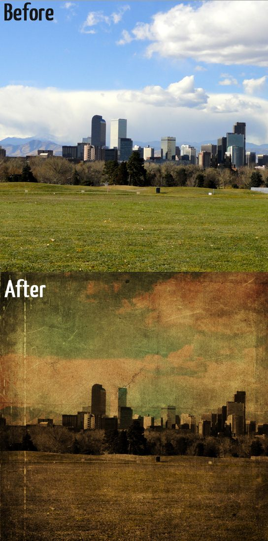 Give Your Photos a Distressed/Grunge Effect – Photoshop Tutorial