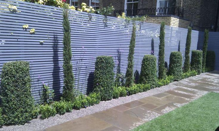 60 Atemberaubende Ideen Fur Gartenzaune Garten Zenideen Garden Fencing Fence Design Modern Fence Design