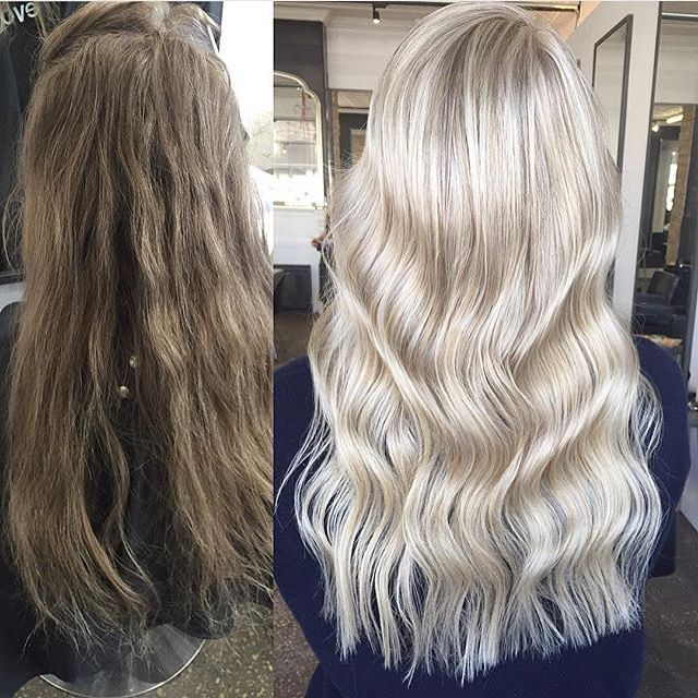Makeover Blah Brown To Bright Blonde Quot Hkw To Quot Icey