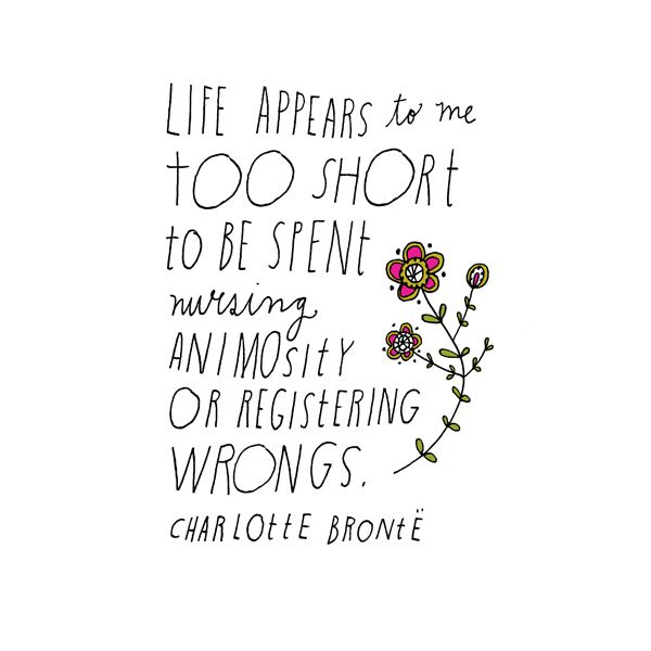 20 Beautifully Illustrated Quotes From Your Favorite Authors: Charlotte Bronte