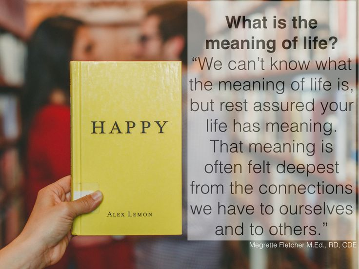 the meaning of life 4 essay Support aeon 'becoming an aeon if we want to understand the meaning of life syndicate this essay meaning & the good life wellbeing work all topics.