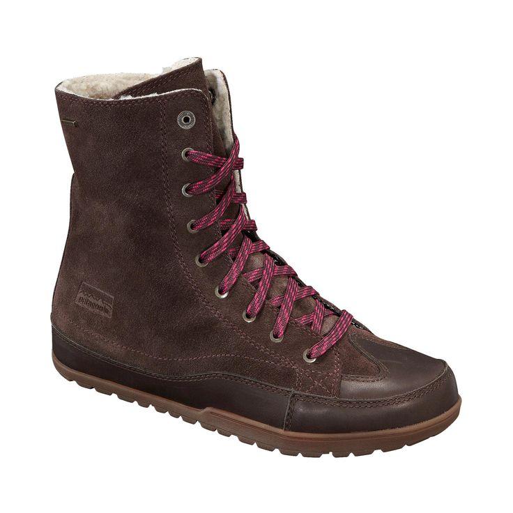 Patagonia Women's Activist Fleece Waterproof - Lightweight, insulated, fleece-lined, waterproof leather boot for cold-weather living.