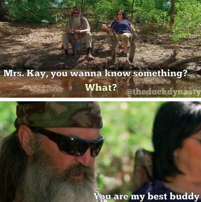 Duck dynasty season four.  Phil and kay robertson
