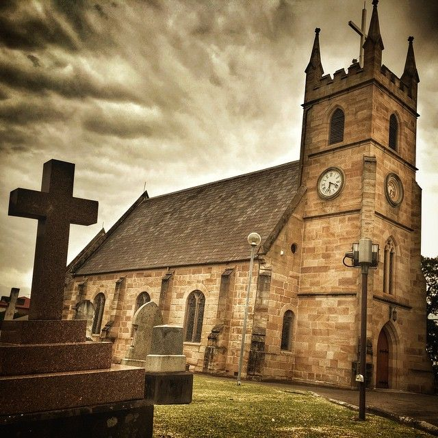 The beautiful art of St Anne's Anglican Church in Ryde, NSW. I did a concert in the newer auditorium last night. But this majestic old church surrounded by the memories of many saints stands like a beacon of hope on the hill. #old churches #church #classic #churches #sepia #endofday #perfectsunset #history #lifeontheroad #stevegrace #outbackrider #picoftheday #aussiegram #sydney #nsw #australia