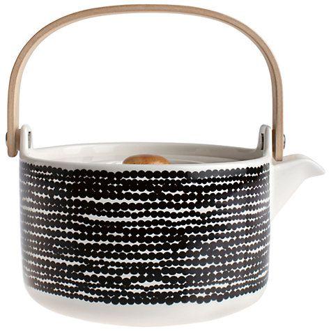 Buy Marimekko Siirtolapuutarha Teapot, 0.7L Online at johnlewis.com