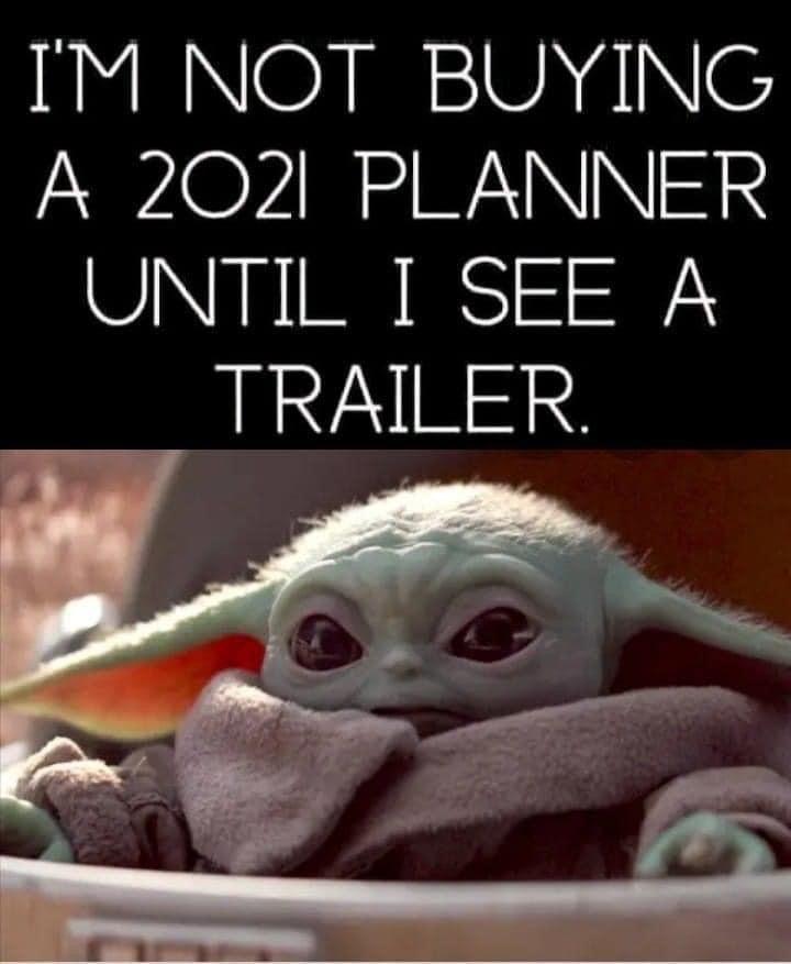 Baby Yoda Trailer For 2021 Yoda Funny Mom Jokes Funny Relatable Memes