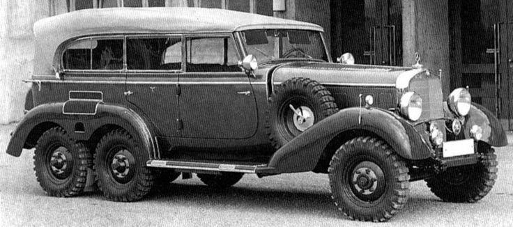DAIMLER-BENZ G4 THE GREATEST NAZI STAF CAR