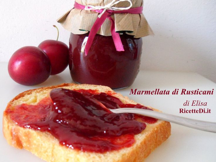 """il """"Rusticano"""", detto anche Marusticano o Mirabolano, è il frutto del Prunus Cerasifera (""""Amolo""""). La pianta fiorisce in marzo-aprile ed i frutti sono maturi a fine giugno. Sono le prime prugne o susine a maturare. La marmellata è buonissima ed è particolarmente indicata per farcire crostate di pasta frolla."""