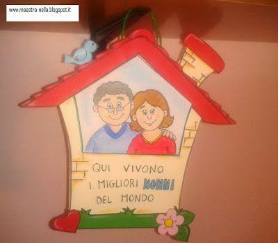 maestra Nella: Festa dei nonni: quadretto da appendere!