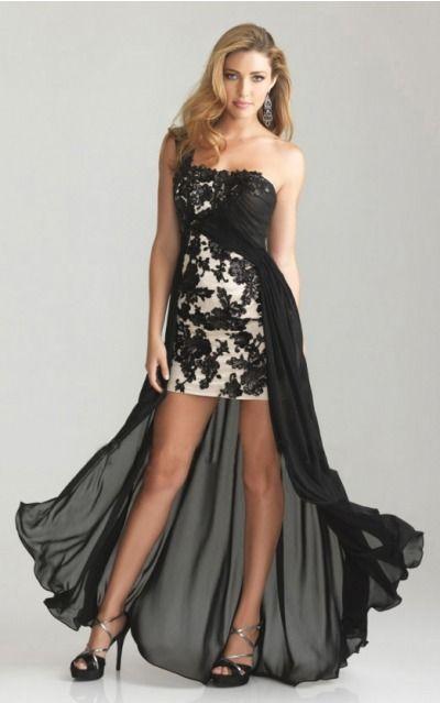 Sleeveless Zipper Chiffon One Shoulder A-line Formal Dresses gjea70906