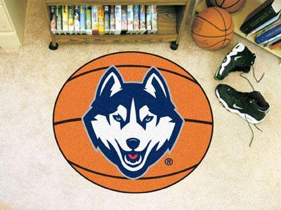 Basketball Mat - University of Connecticut